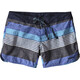 "Patagonia W's Wavefarer Board 5"" Shorts Fitz Stripe Texture: Viking Blue"